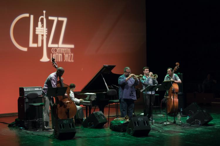 Pepe Rivero, Javier Colina, Reinier Elizarde (El Negrón), Manuel Machado y Manuel Blanco - Clazz Continental Latin Jazz 2019
